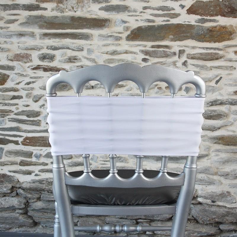 Bandeau lycra blanc, Anne-C