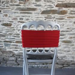 Bandeau, nœud de chaise bordeaux, Anne-C