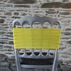 Bandeau lycra jaune#47 - Anne-C