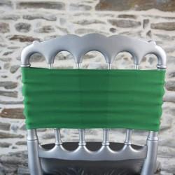 Bandeau lycra coloris vert gazon, Anne-C