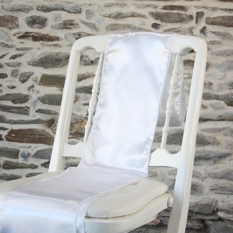 Ceinturage satin blanc- Anne-c