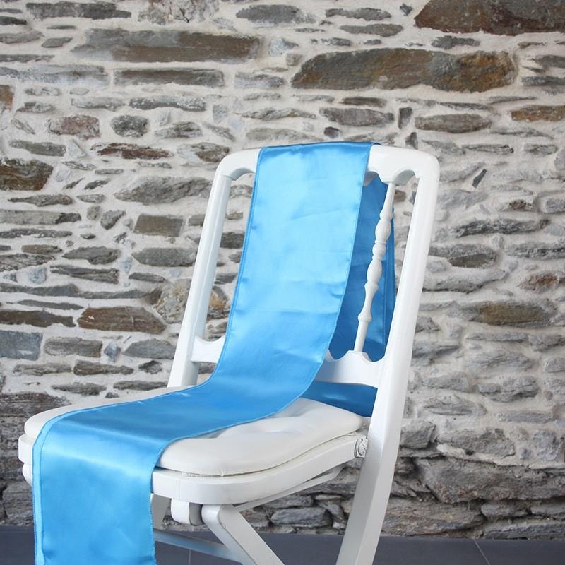 Ceinturage satin bleu, Anne-C