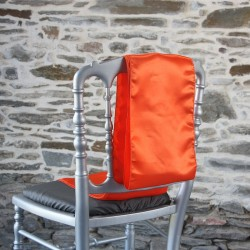 Nœud de chaise satin orange, Anne-C