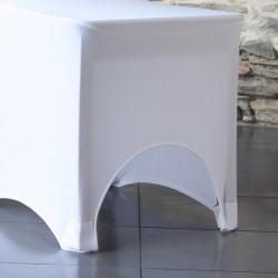 Housse lycra avec arc pour le confort d'assise
