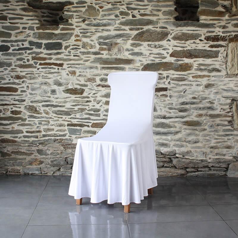 Housse lycra juponnage pour chaise banquet Anne-C