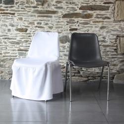 Housse scuba sur chaise coque baquet, Anne-C