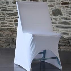 Housse lycra pour chaise basse avec arc, Anne-C