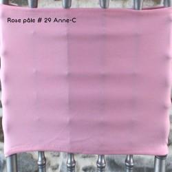 Housse mange debout rose, Anne-c