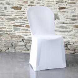 Cette housse de chaise bistrot s'adapte aux chaises plastiques empilables de jardin ou aux chaises bistrot.