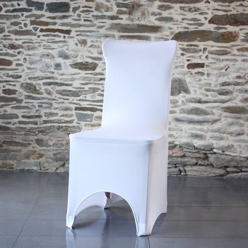 Housse de chaise lycra pour chaise réception