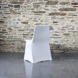 Housse lycra chaise coque Anne-C