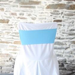 Bandeau lycra bleu, Anne-C