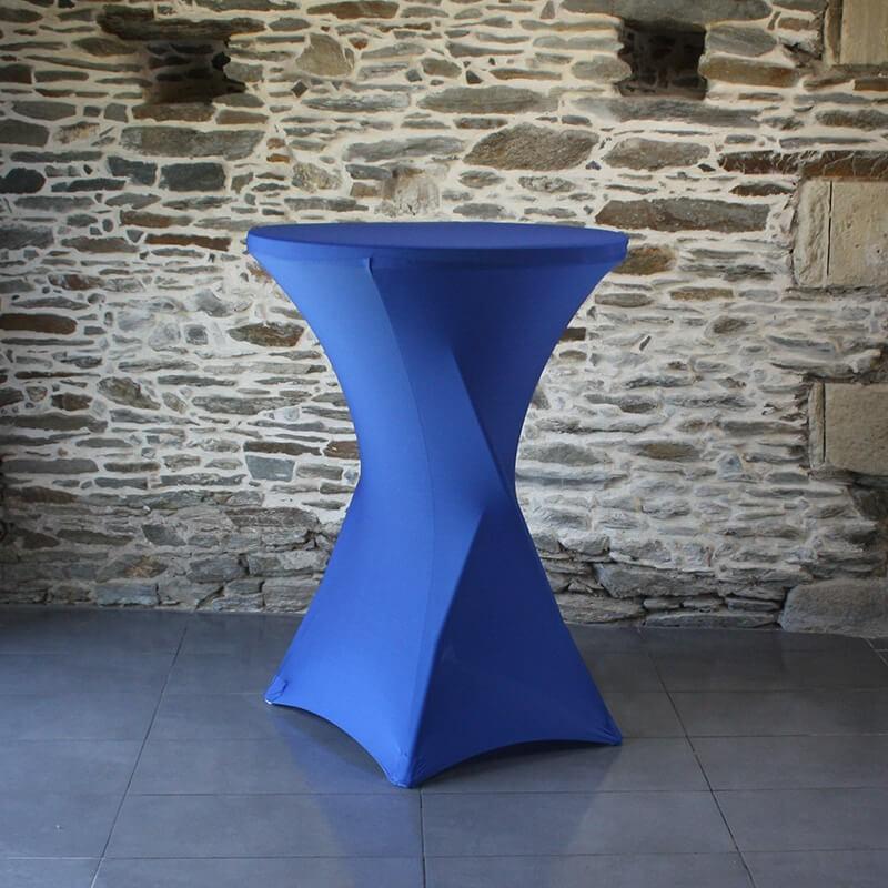 Housse lycra mange debout Bleu marine 40, Anne-C