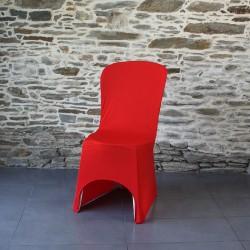 Housse lycra miami rouge, Anne-C