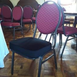 Housse pour assise de chaise Conférence ou Napoléon, en lycra - Anne-C
