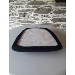 Dessous d'assise de chaise Napoléon avec housse lycra, Anne-C