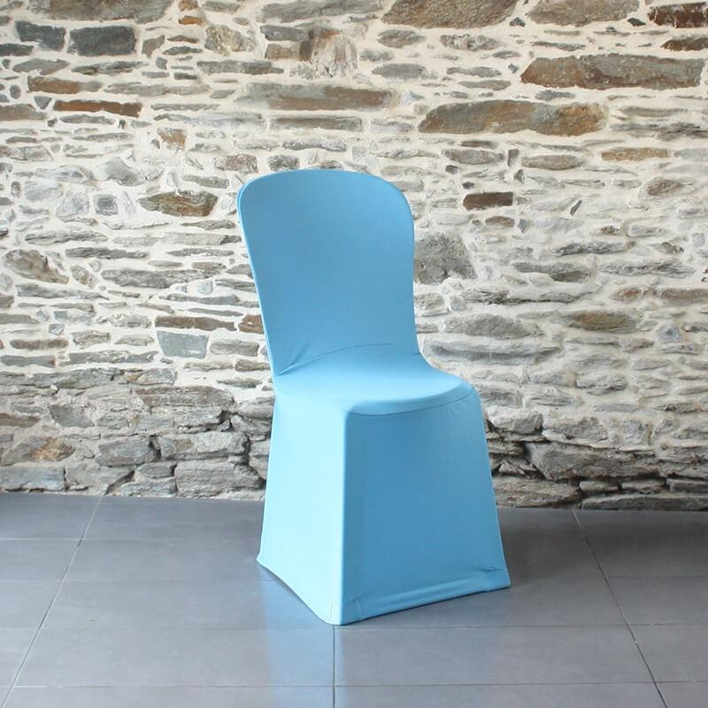 Housse de chaise bleue miami, Anne-C