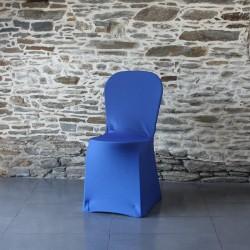Housse de chaise bleu saphir Miami Anne-C