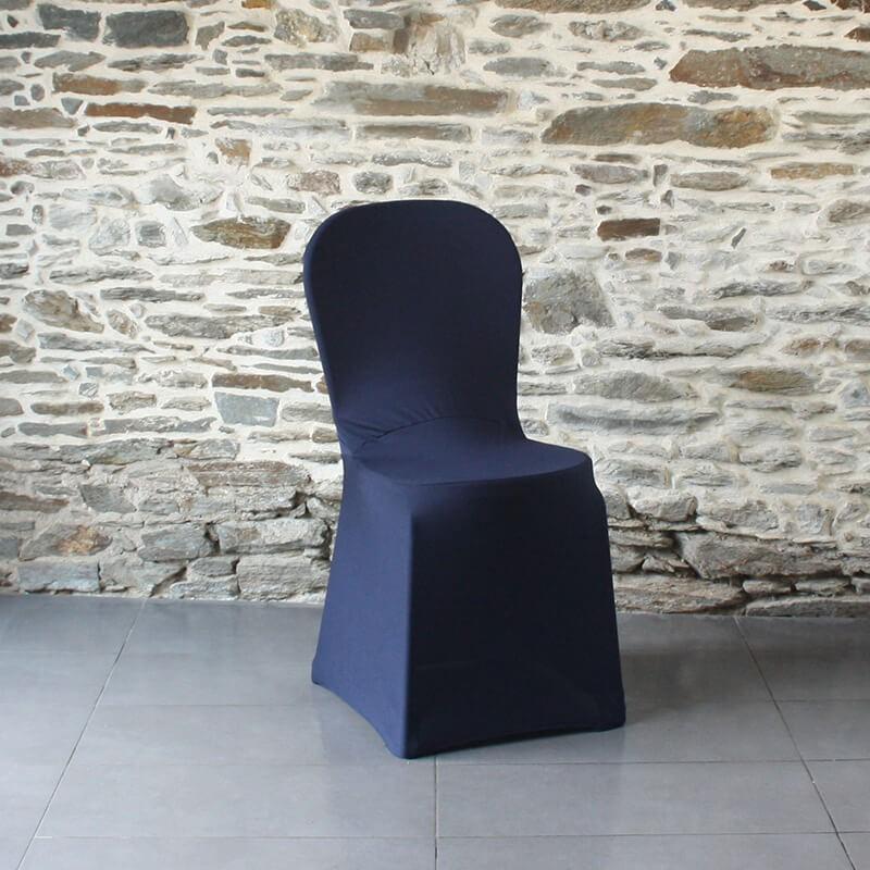 Housse de chaise bleu nuit miami, Anne-C