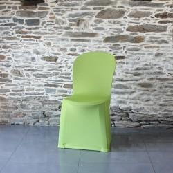 Housse de chaise vert anis Miami, Anne-C