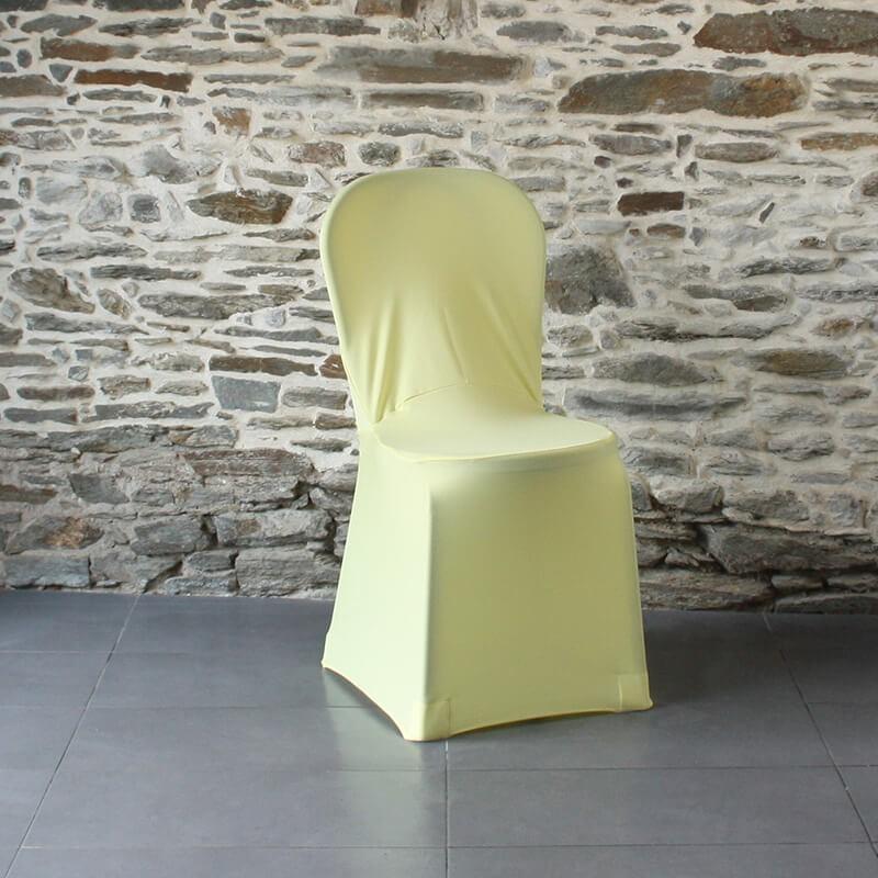 Housse de chaise jaune Miami, Anne-C