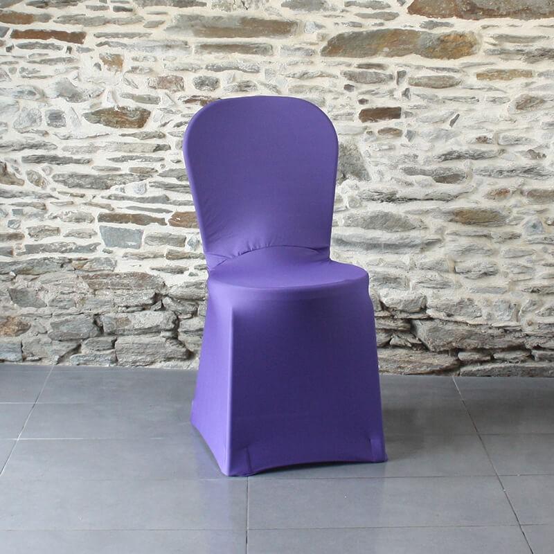 Housse de chaise violette Miami, Anne-C
