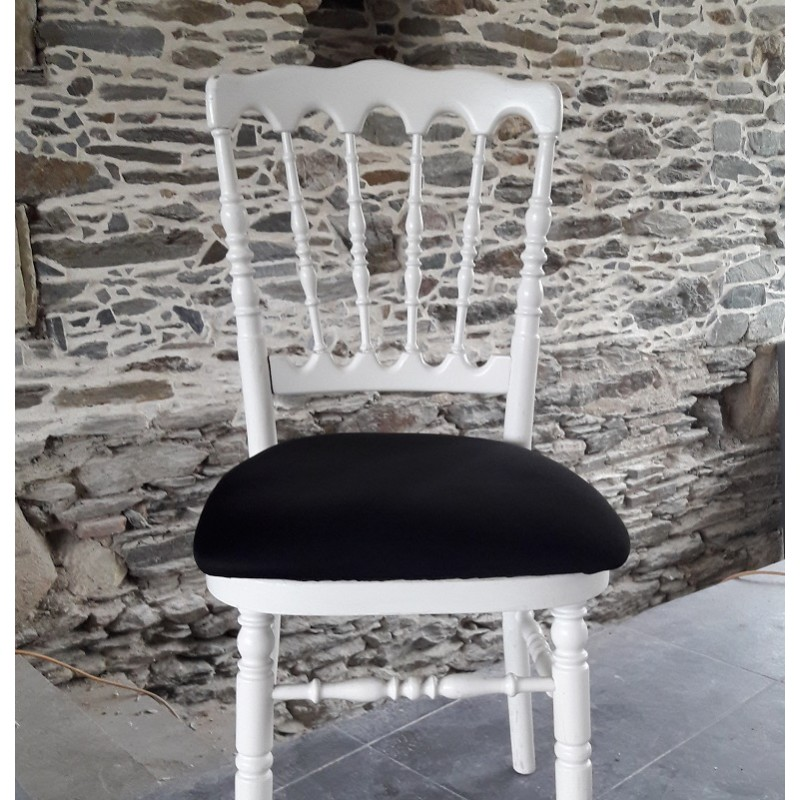 housse lycra pour galette de chaise Napoléon