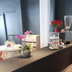 nappe buffet droite lycra hôtel Aigle des Neiges Val d'Isère
