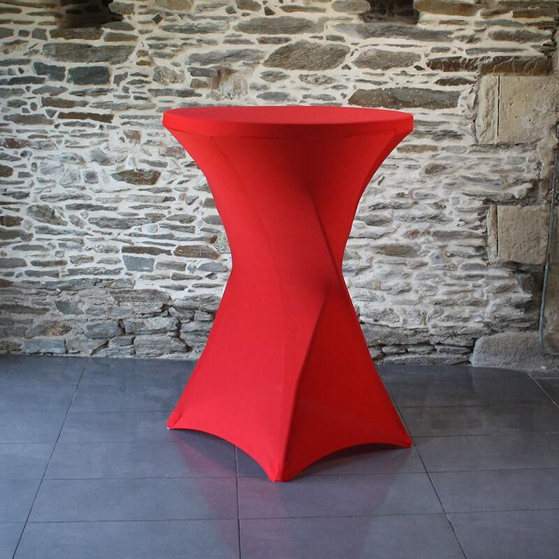 Housse lycra mange debout rouge 01, Anne-C