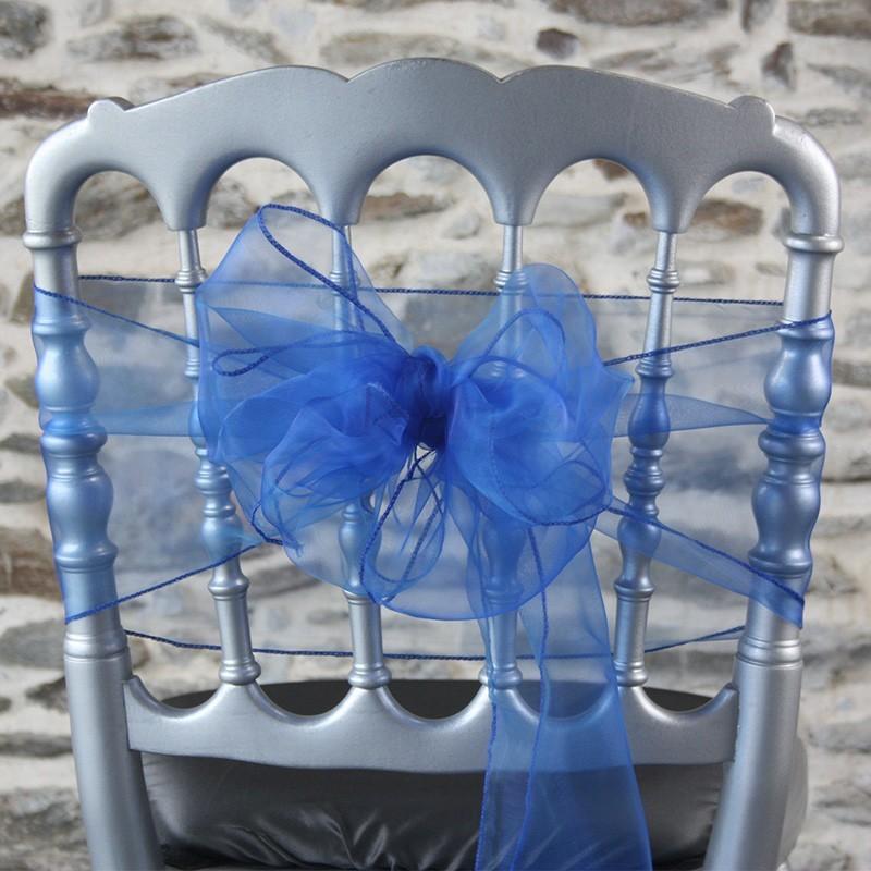 Ceinturage organza bleu marine, Anne-C
