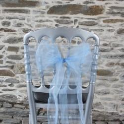 Ceinturage organza bleu ciel, Anne-C