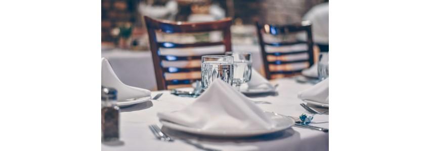 Le linge de table professionnel, votre identité dans le décor de table