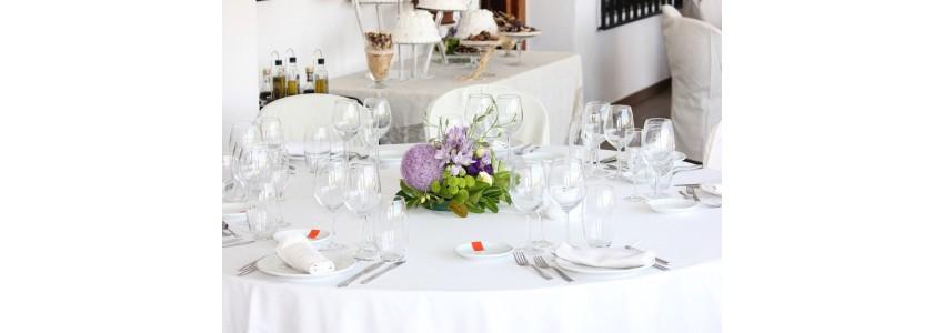 Nappe de restaurant, coton ou polyester pour les professionnels